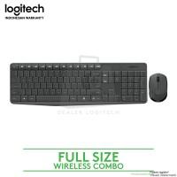 Logitech Keyboard Mouse Wireless Combo MK235 garansi resmi/original
