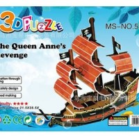 Harga 3d puzzle bangunan ukuran besar mainan edukasi kapal ship df | antitipu.com