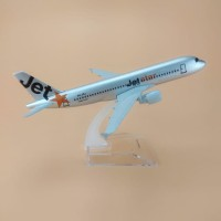 Diecast Die Cast Miniatur Pesawat JetStar Jet Star Airways Airplanes