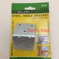 Siku Rak Besi Lebar / Angle Bracket 45 x 45 x 45 mm