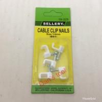 Klem Kabel / Cable Clip Nails 6mm