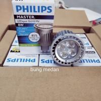 PHILIPS MASTER LED 8W 8WATT GU10 SPOT DIMMABLE 220V PUTIH KUNING