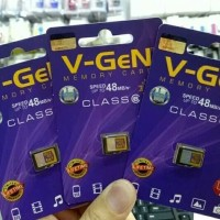 V-gen Micro SD Vgen 16GB Memory Card Original
