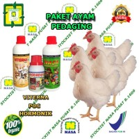 Paket Vitamin Penggemukan Ayam Pedaging Organik Nasa
