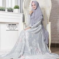 Gamis Syari Davina Abu/Grey