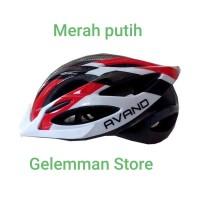 Helm Sepeda Avand A-06 Ada lampu Belakangnya