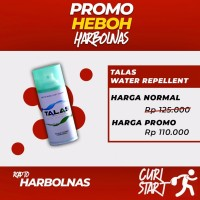 Jual Talas Water Repellent Spray Anti Air Dan Noda - PROMO HARBOLNAS Murah