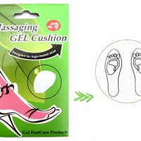 Silicon Pad High Heels/Wedges - Pelindung Kaki- Massaging Gel Cushion