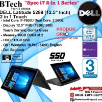 Dell Latitude 5289 ( 12.5 Inch ) Core i7 - 7600U Touch 2in1