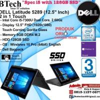 DELL Latitude 5289 (12.5 Inch) 2 in 1 Core i5-7300U/8GB/128GB/WIN10PRO
