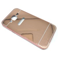 Samsung Galaxy J5 2015 - Rose Gold - Aluminium Bumper Hardcase with Mi