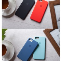 Soft Case Silikon Silicone Iphone 6/6S/7/7S Casing Cover Sofcase