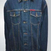 Jaket Jeans Pria Warna Biru Bio Wash Lexist Harga MURAH - 58055 BW