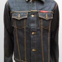 Jaket Jeans Pria Warna Hitam Garment Lexist Harga MURAH BAGUS - 58038