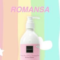 Harga romansa scarlett whitening body lotion | antitipu.com