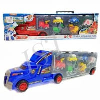 Mainan Anak TRUCK CONTAINER ROBOCAR POLI AND PAW PATROL