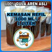 Gula kelapa aren cair untuk cendol dan minuman atau makanan lain 1 lt
