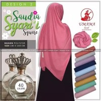 Hijab Segi Empat Saudia Syar'i Square Umama Scraft
