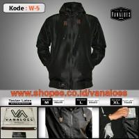 Jaket Waterproof Vanaloes Sleting Anti Air - Taslan Zipper Waterproof da1c4b5274