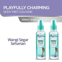 Marina Body Mist Cologne [100 mL/ 2 pcs] - Playfully Charming