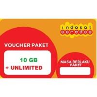 Voucher Data Indosat 10GB Unlimited