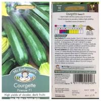 Benih Sayuran Mr Fothergills Import - Courgette Firenze F1 - FREE