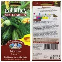 Benih Sayuran Mr Fothergills Import UK - Marrow Fatboy F1 - FREE
