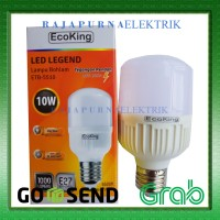 LAMPU LED BULB ECOKING 10W / 10 watt SUPER TERANG