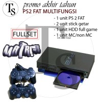 Sony Ps2 Fat Multi fungsi 160GB - PS 2 Multifungsi 160 GB