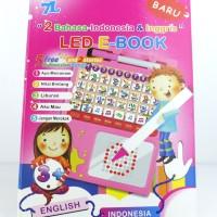 Mainan Edukatif LED E-Book Dua Bahasa (Ind-Eng) dari 7L