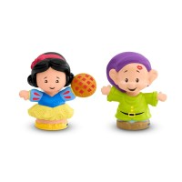 FISHER PRICE ORIGINAL LITTLE PEOPLE Disney Princess Snow White & Dopey