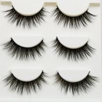 3 PSNG - BULU MATA PALSU Sexy Handmade 3D mink hair false eyelashes