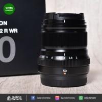 [SECONDHAND] Fujinon XF 50mm f2 R WR - 3024 - Gudang Kamera Malang