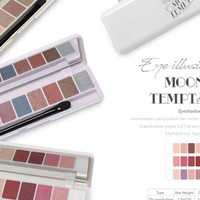 [10 WARNA] MADAME GIE EYESHADOW EYE ILLUSIONS MOONDUST TEMPATION