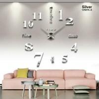 Jam Dinding Dekorasi Rumah DIY 80-130cm Diameter - ELET00659