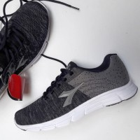 Jual Sepatu Asli DIADORA ESCALATE Grey. Running Lari Sneakers ORIGINAL Murah