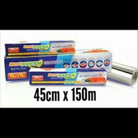 Aluminium foil roll best fresh 45 cm x 150 cm