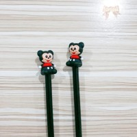 Pulpen Minnie Mouse / Gel Pen Karakter Disney Pena Lucu Souvenir Unik