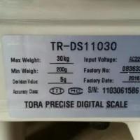 timbangan duduk/meja/30kg