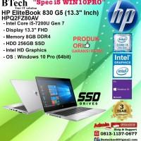 HP EliteBooK 830 G5 - HPQ2FZ80AV Intel Core i5-7200U/8GB/256GB SSD/3YR
