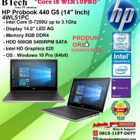 HP Probook 440 G5 - 4WL51PC Core i5-7200U/8GB/500GB/W10PRO/1YR