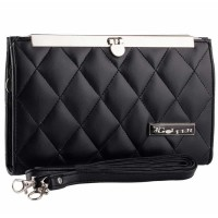 Tas Kecil Wallet Dompet Wanita Cewek Terbaru Warna Hitam GF 2807 GR