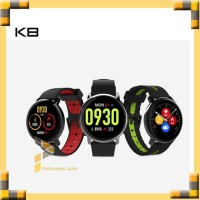Smart Watch K8 Smartwatch Jam Tangan Pintar Sport Watch Hitam Merah