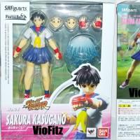 Jual Shf Sakura Kasugano Sfv Street Fighter V Shfiguarts Dbz Db Z