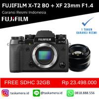 Harga fujifilm xt2 x t2 body only bo xf 23mm f1 4 fujifilm   Pembandingharga.com