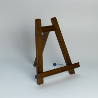 Walnut Petite Wooden Easel / Wooden Canvas Stand