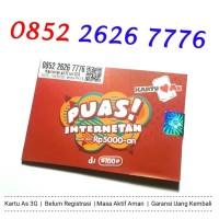 Paket Nomor Cantik Telkomsel Kartu AS Puas 3G 0852 2626 7776 76