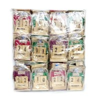 souvenir pernikahan kalender abadi unik dan murah di kemas plastik