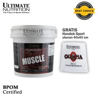Muscle 2544, 10.45 Lbs Chocolate - ULTIMATE NUTRITION.