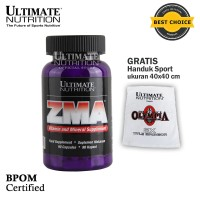 ZMA, 90 Caps - Ultimate Nutrition Official